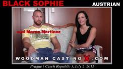 Watch Black Sophie first XXX video. Pierre Woodman undress Black Sophie, a Austrian girl.