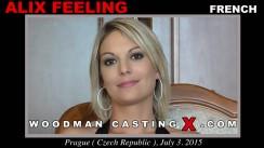Watch Alix Feeling first XXX video. Pierre Woodman undress Alix Feeling, a French girl.