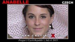 Look at Anabelle getting her porn audition. Pierre Woodman fuck Anabelle, Czech girl, in this video.