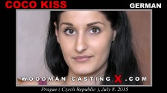 Download Coco Kiss casting video files. Pierre Woodman undress Coco Kiss, a German girl.