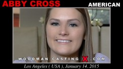 Look at Abby Cross getting her porn audition. Erotic meeting between Pierre Woodman and Abby Cross, a American girl.