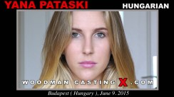 Download Yana Pataski casting video files. A Hungarian girl, Yana Pataski will have sex with Pierre Woodman.