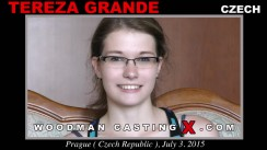 Access Tereza Grande casting in streaming. Pierre Woodman undress Tereza Grande, a Czech girl.