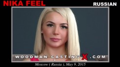 Check out this video of Nika Feel having an audition. Erotic meeting between Pierre Woodman and Nika Feel, a Russian girl.