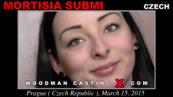Look at Morticia Submi  getting her porn audition. Erotic meeting between Pierre Woodman and Morticia Submi , a Czech girl.
