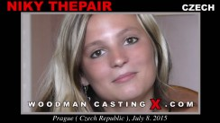 Check out this video of Niky Thepair having an audition. Erotic meeting between Pierre Woodman and Niky Thepair, a Czech girl.
