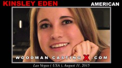 Look at Kinsley Eden getting her porn audition. Erotic meeting between Pierre Woodman and Kinsley Eden, a American girl.