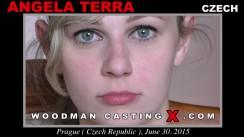 Watch Angela Terra first XXX video. Pierre Woodman undress Angela Terra, a Czech girl.