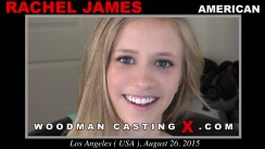 Access Rachel James casting in streaming. A American girl, Rachel James will have sex with Pierre Woodman.