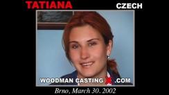 Access Tatiana casting in streaming. Pierre Woodman undress Tatiana, a Czech girl.