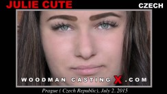 Watch Julie Cute first XXX video. Pierre Woodman undress Julie Cute, a Czech girl.