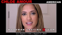 Download Chloe Amour casting video files. A American girl, Chloe Amour will have sex with Pierre Woodman.