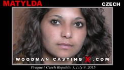Access Matylda casting in streaming. Pierre Woodman undress Matylda, a Czech girl.