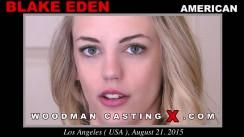 Access Blake Eden casting in streaming. Pierre Woodman undress Blake Eden, a American girl.