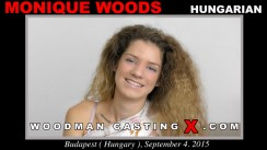 Check out this video of Monique Woods having an audition. Erotic meeting between Pierre Woodman and Monique Woods, a Hungarian girl.