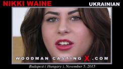 Watch our casting video of Nikki Waine. Erotic meeting between Pierre Woodman and Nikki Waine, a Ukrainian girl.