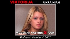 Access Viktorija casting in streaming. Pierre Woodman undress Viktorija, a Ukrainian girl.