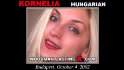 Download Kornelia casting video files. Pierre Woodman undress Kornelia, a Hungarian girl.