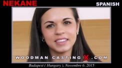 Watch Nekane first XXX video. A Spanish girl, Nekane will have sex with Pierre Woodman.