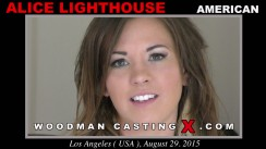 Look at Alice Lighthouse getting her porn audition. Erotic meeting between Pierre Woodman and Alice Lighthouse, a American girl.
