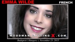 Download Emma Wilde casting video files. A French girl, Emma Wilde will have sex with Pierre Woodman.