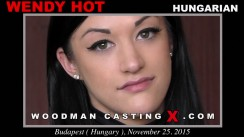 Check out this video of Wendy Hot having an audition. Erotic meeting between Pierre Woodman and Wendy Hot, a Hungarian girl.