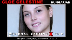 Watch Cloe Celestine first XXX video. A Hungarian girl, Cloe Celestine will have sex with Pierre Woodman.