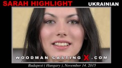Look at Sarah Highlight getting her porn audition. Erotic meeting between Pierre Woodman and Sarah Highlight, a Ukrainian girl.