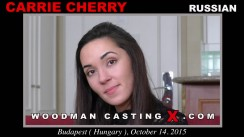 Watch Carrie Cherry first XXX video. Pierre Woodman undress Carrie Cherry, a Russian girl.