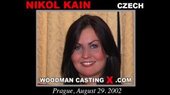 Check out this video of Nikol Kain having an audition. Erotic meeting between Pierre Woodman and Nikol Kain, a Czech girl.