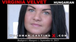 Access Virginia Velvet casting in streaming. Pierre Woodman undress Virginia Velvet, a Hungarian girl.