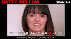 Download Natty Mellow casting video files. Pierre Woodman undress Natty Mellow, a Spanish girl.
