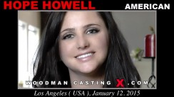 Access Hope Howell casting in streaming. Pierre Woodman undress Hope Howell, a American girl.
