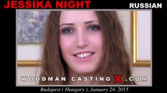 Download Jessika Night casting video files. Pierre Woodman undress Jessika Night, a Russian girl.