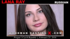 Download Lana Ray casting video files. Pierre Woodman undress Lana Ray, a Russian girl.