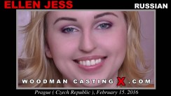 Download Ellen Jess casting video files. A Russian girl, Ellen Jess will have sex with Pierre Woodman.