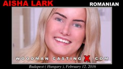 Watch Aicha Lark first XXX video. A Romanian girl, Aicha Lark will have sex with Pierre Woodman.