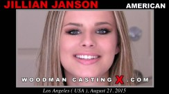 Check out this video of Jillian Janson having an audition. Erotic meeting between Pierre Woodman and Jillian Janson, a American girl.