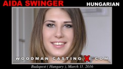 Look at Ayda Swinger getting her porn audition. Erotic meeting between Pierre Woodman and Ayda Swinger, a Hungarian girl.
