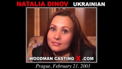 Look at Natalia Dinov getting her porn audition. Erotic meeting between Pierre Woodman and Natalia Dinov, a Ukrainian girl.