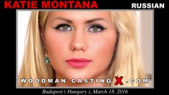 Download Katie Montana casting video files. Pierre Woodman undress Katie Montana, a Russian girl.