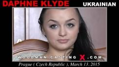 Download Daphne Klyde casting video files. Pierre Woodman undress Daphne Klyde, a Ukrainian girl.