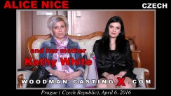 Watch our casting video of Alice Nice . Erotic meeting between Pierre Woodman and Alice Nice , a Czech girl.