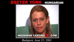 Access Eszter York casting in streaming. Pierre Woodman undress Eszter York, a  girl.
