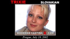 Check out this video of Trixie having an audition. Erotic meeting between Pierre Woodman and Trixie, a Slovak girl.
