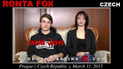 Access Ronta Fox casting in streaming. Pierre Woodman undress Ronta Fox, a Czech girl.