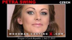 Watch Petra Swing  first XXX video. Pierre Woodman undress Petra Swing , a Czech girl.
