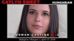 Check out this video of Catlyn Sweet having an audition. Pierre Woodman fuck Catlyn Sweet, Hungarian girl, in this video.