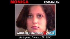 Look at Monica getting her porn audition. Erotic meeting between Pierre Woodman and Monica, a Romanian girl.