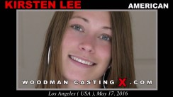 Watch Kirsten Lee first XXX video. Pierre Woodman undress Kirsten Lee, a American girl.